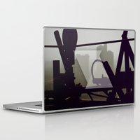 metropolis Laptop & iPad Skins featuring Metropolis by Kilian Guenthner