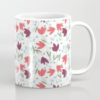 tulip Mugs featuring Tulip  by Totten-Design