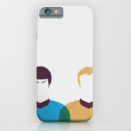 Kirk and Spock iPhone Case