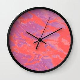 neon demon Wall Clock