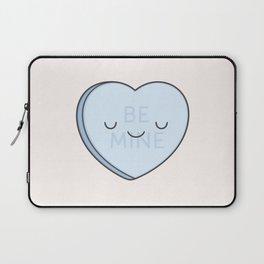 Blue Sweet Candy Heart Laptop Sleeve