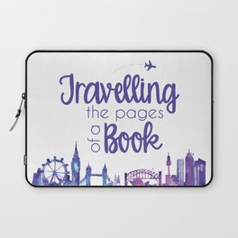 Travelling the Pages Laptop Sleeve