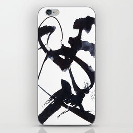 Calligraphy Abstract Symbol Art iPhone Skin