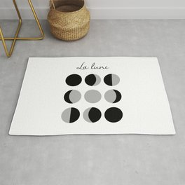 Phases of the Moon Rug