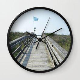 beach access Wall Clock