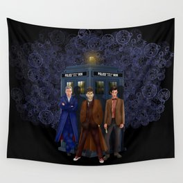The best regeneration of Doctor who Wall Tapestry
