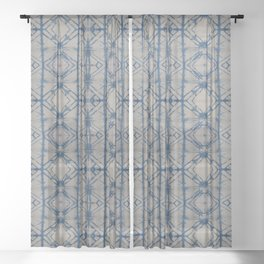 Shibori Mirror Sheer Curtain
