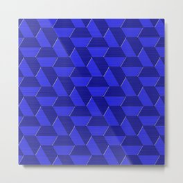 Geometrix LXXXIII Metal Print