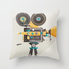 Cine Throw Pillow