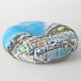 Capri - Marina Grande I Floor Pillow