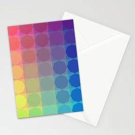 2020 Summer Vibes color harmonies octagonal pattern Stationery Cards