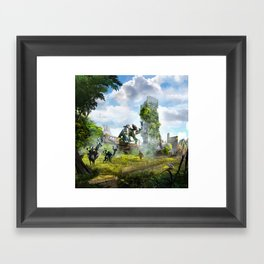 Manchester [Horizon Zero Dawn] Framed Art Print