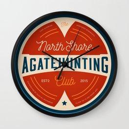 North Shore Agate Hunting Club  Wall Clock