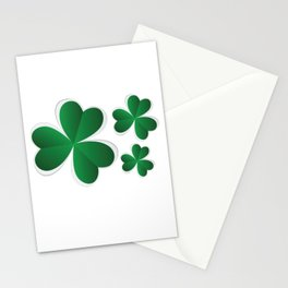 Clover Leaf Stationery Cards