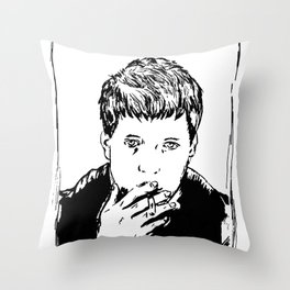 Unknown Pleasures Throw Pillow