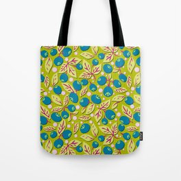 Blueberry Preserves Tote Bag