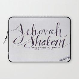 Jehovah Shalom Laptop Sleeve