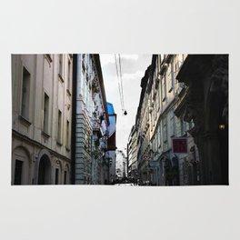 Graphic Alley In Vienna Rug