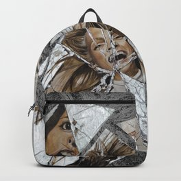 Happiness Shattered Backpack