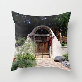 Las Entrada Throw Pillow