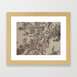 Digital Bunny-Segment 90 Framed Art Print