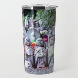 Jizo monk statues - Japan Travel Mug