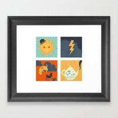 Weather Framed Art Print