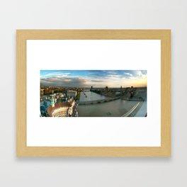 London by Eye Framed Art Print
