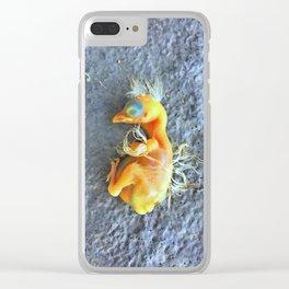 Bye Bye Birdie Clear iPhone Case