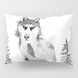 Husky Pillow Sham