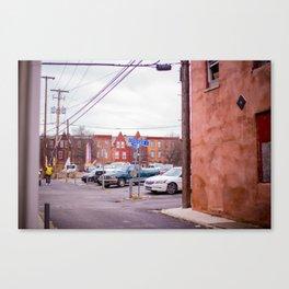 Harrisburg Sidestreet Canvas Print