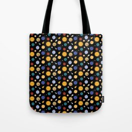 Kawaii Solar System Tote Bag