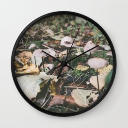 Forest (IV) Wall Clock