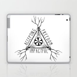 ACCEPTING - FREEDOM - IMPACTFUL Laptop & iPad Skin