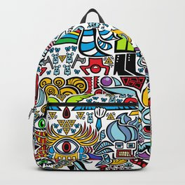 merge the weirdos and now all the things like the voltron kiddos Backpack
