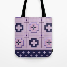 The Directions (Purple) Tote Bag
