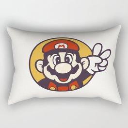 Mario Peace Rectangular Pillow