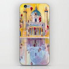 Vienna, famous Karlskirche saint Charles Church iPhone & iPod Skin