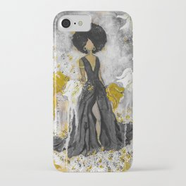 Dear Queen Black and Gold iPhone Case
