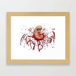 Your Gestation is Over Framed Art Print