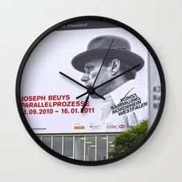 Joseph Beuys German Artist  Wall Clock
