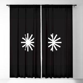 Asterisk Blackout Curtain