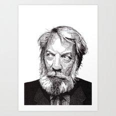 Donald Art Print