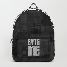 Byte Me Backpack