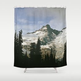 Mountain Snow Shower Curtain