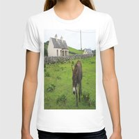 irish T-shirts featuring Irish Cottage by Kim Ramage