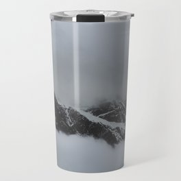 peak through the clouds Travel Mug