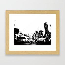 Melbourne City II Framed Art Print