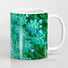 Turquoise Queen Anne's Lace Coffee Mug