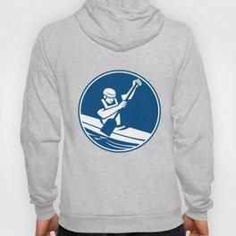 Canoe Slalom Circle Icon Hoody
